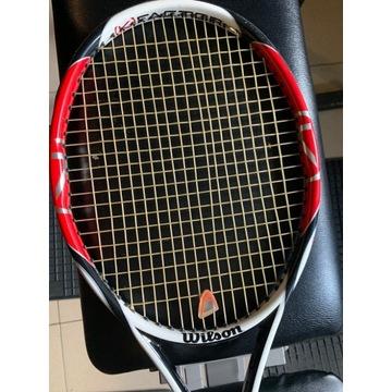 Wilson KFactor rakieta tenisowa, bardzo dobra!