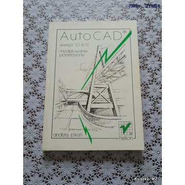 Książka AutoCAD modelowanie przestrzenne.