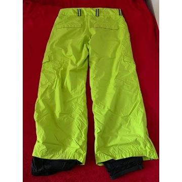 Spodnie na snowboard XL narciarskie