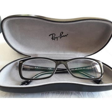 Okulary Ray Ban zerówki antyrefleksyjne