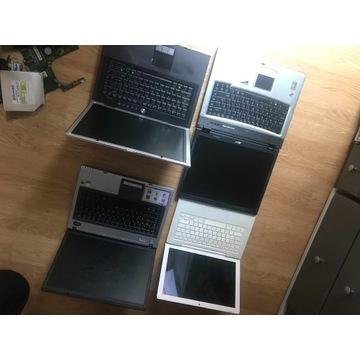 Laptopy na części