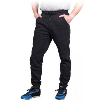 Męskie spodnie Jogger - czarne - S