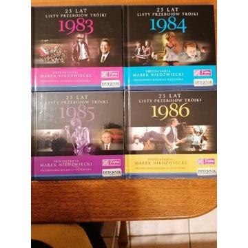 Płyty CD 25 lat Listy przebojów trójki