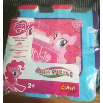 Puzzle piankowe 8el. My Little Pony Trefl 60397