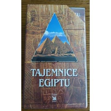 Tajemnice Egiptu - kolekcja 3x VHS NOWE W FOLII!!!