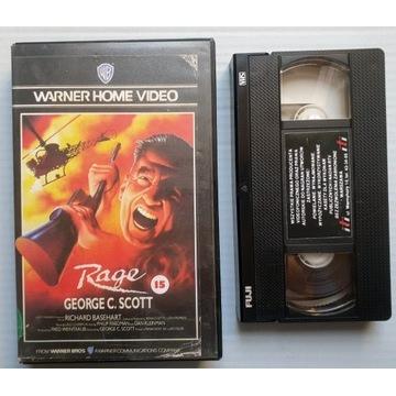 Rage. Kaseta VHS