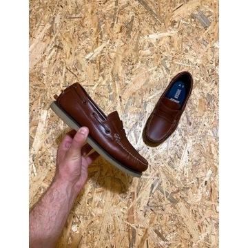 Męskie buty żeglarskie Marks & Spencer