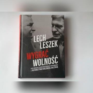 """Autografy """"Lech. Leszek Wygrać wolność"""""""