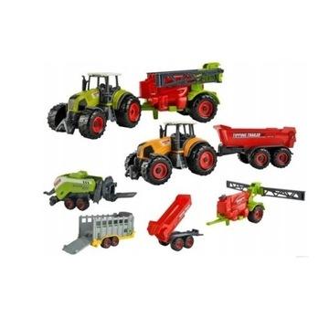 Maszyny Rolnicze Zestaw Traktor  FARMA licytacja
