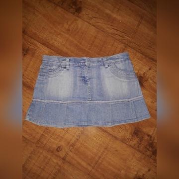 Spódniczka jeansowa L/40 super stan