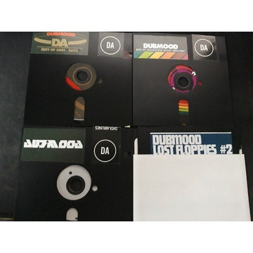 DUBMOOD - cztery albumy RARE!!! Muzyka Amiga Atari