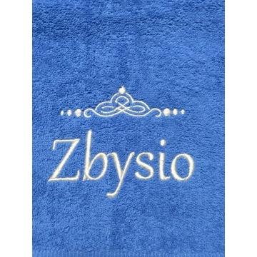 Ręcznik 30x50 z haftem imienia Zbysio