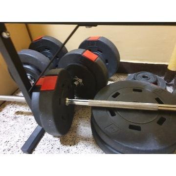 Zestaw obciążeń kompozytowych bitumicznych 80 kg