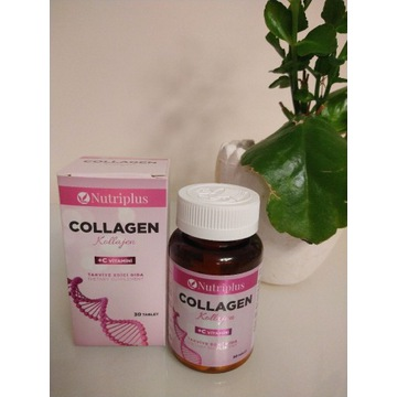 Nutriplus Kolagen 1000 mg + Wit C 50 mg 30 TAB