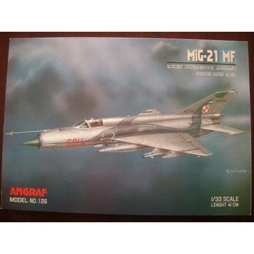 Mig-21 MF . Angraf model .