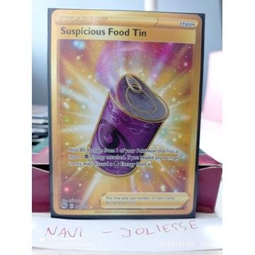 Suspicious Food Tin Secret Gold 80/73 M/NM Champ