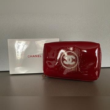 Chanel Oryginalna Lakierkowa Kosmetyczka Pudełko