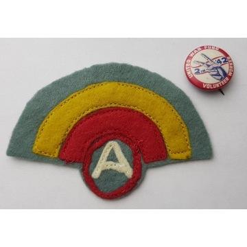 Naszywka 42 Dywizji Piechoty 3 Armii I Wojna Świat
