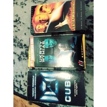 Cube / Ukryty Wymiar/ Atmageddon (3 z VHS)
