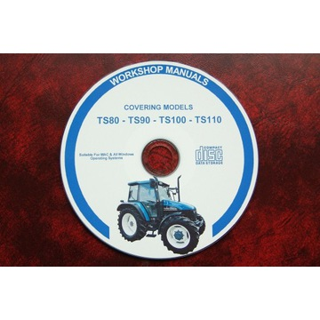 Instrukcja napraw New Holland TS80-TS110
