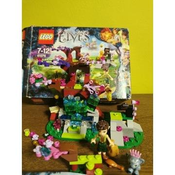 Lego Elves 41076 Farran i dziupla z kryształem