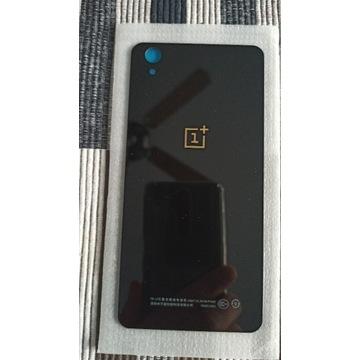 klapka pokrywa baterii One plus E1001 czarana tył