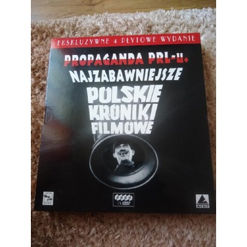 Najzabawniejsze polskie kroniki filmowe 4 x DVD
