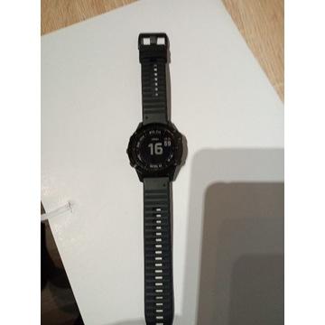 Garmin Fenix 6X Pro Czarny z czarnym paskiem