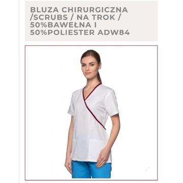 Nowy zestaw ubranie medyczne bluza i spodnie