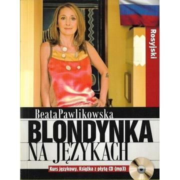 Blondynka na językach Rosyjski + CD NOWA