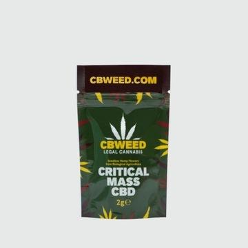 Susz CBD Critical Mass 2g CBWEED