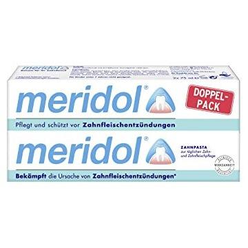 PASTA MERIDOL 2 X75 ml REGENERACJA DZIĄSEŁ