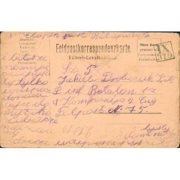 1916 - Kruszelnica (Stryj) kamufl.st.okręg. IX-379