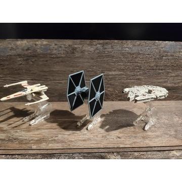 Figurki Star Wars Myśliwce Zestaw Kolekcjonerski