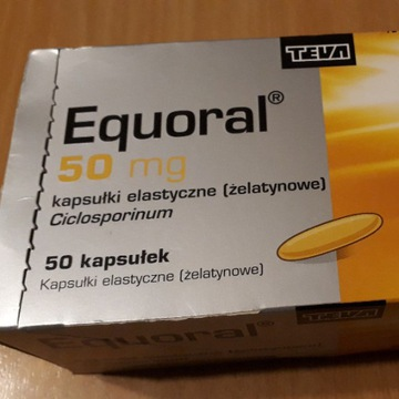 Equoral/Cyklosporyna 50mg
