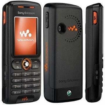 Sony W200i WALKMAN PL, Oryginał, GW12, BLACK