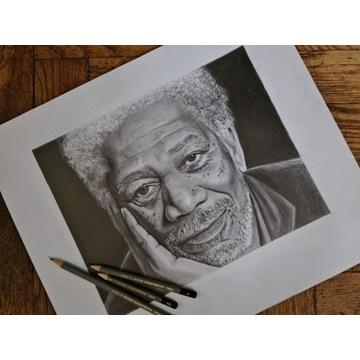 Rysunek realistyczny, portret z Twojego zdjęcia.
