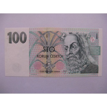 Czechy - 100 Koron - 1997 - P18 - St.1