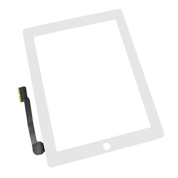 DIGITIZER SZYBKA iPad 3 (biały) + Home Button