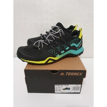 Adidas Terrex Swift R2 GTX 45 1/3 core black/acid