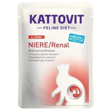 KATTOVIT  nerki Wołowina 20x85g