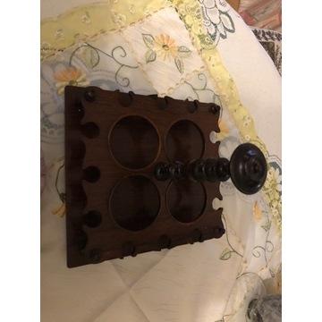 karafka ,kieliszki,wkład do pudełka ,podstawka