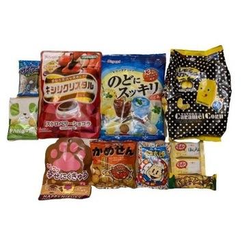Kultowe japońskie słodycze i przekąski Zestaw Box