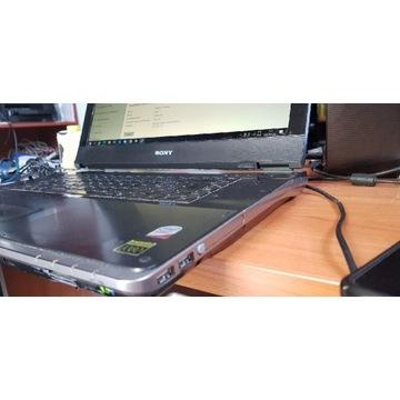 Sony PCG-8111M matryca 17 cali, HD256, SSD+HDD
