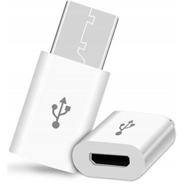 PRZEJŚCIÓWKA ADAPTER KABEL MICRO USB-C 3.1 TYP C