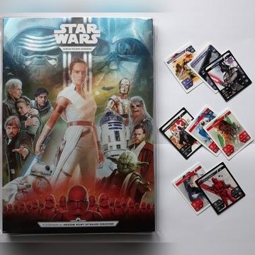 Album + 8 karty STAR WARS gwiezdne wojny KAUFLAND