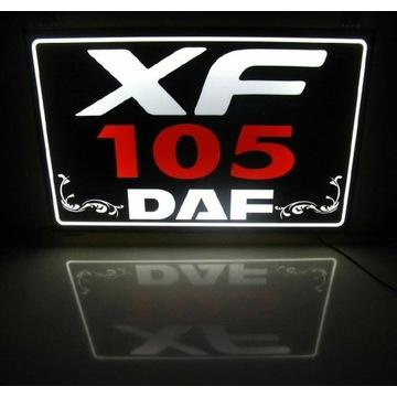 Tablica podświetlana na tylną sciane Daf 105