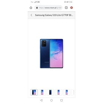 Samsung Galaxy S10 Lite