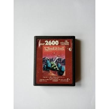 Atari 2600 Moon patrol gra cardridge