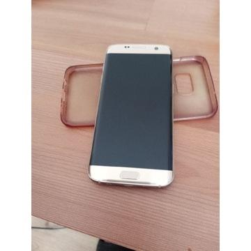 Samsung Galaxy s7 edge złoty uszkodzony